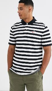 Heritage Essentials Stripe Polo Shirt In