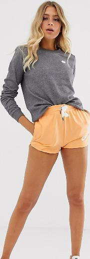 High Waisted Runner Shorts