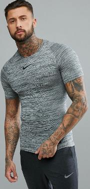 compression t shirt in heather ah2653 010