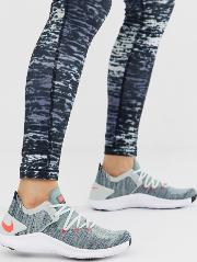 Free Tr Flyknit Trainers And Blue