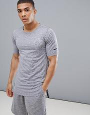 utility fitted  shirt in grey aa1591 037