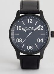 A1242 Patrol Leather Watch