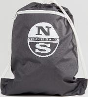 Gym Backpack In Grey