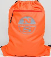 Gym Backpack In Orange