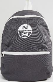 logo backpack in grey