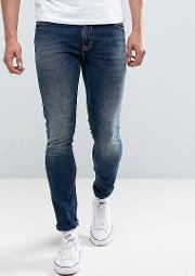 Co Skinny Lin  Dark Double Indigo Wash