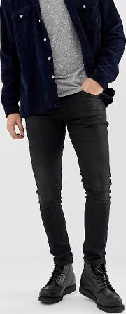 Co Tight Terry Super Fit Jeans Authentic Wash