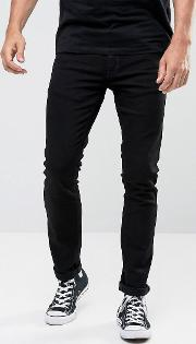 Tight Long John Skinny  Black Wash