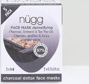 Charcoal Face Mask X 5 Pack