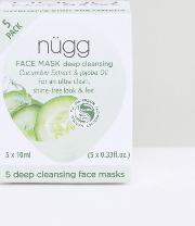 Deep Cleansing Face Mask X 5 Pack