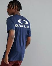 50 bark t shirt back logo print  navy