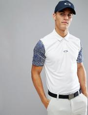 Golf Premier Wave Polo Regular Fit In White