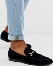 Lemming Bar Loafers Suede