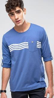 o'neill waves top long sleeve  shirt