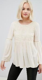 lupina wide sleeved blouse
