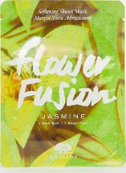 flower fusion softening sheet mask jasmine