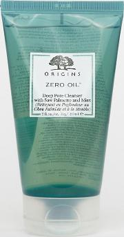Zero Oil Deep Pore Cleanser With Saw Palmetto & Mint 150ml