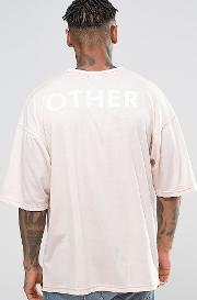 Oversized  Shirt With Back Print