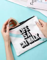 life is a catwalk pouch