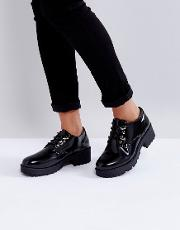 Chunky Sole Lace Up Shoe
