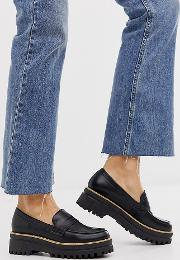 Wide Fit Chunky Loafer