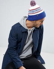 Powder Town Beanie Bobble Logo In