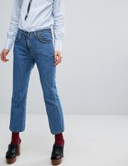 sister frill detail jeans