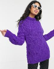 Hand Knitted Fisherman's Jumper