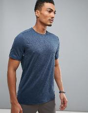 360 sports  shirt in navy marl