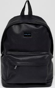 Etched Backpack In Black