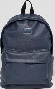 Etched Backpack In Navy