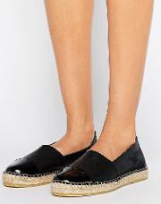 josephine leather espadrilles
