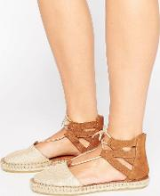 Linnea Metallic Suede Two Part Espadrilles