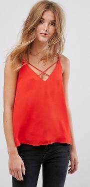 strap front cami top