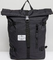 Classic Rolltop Backpack In Black