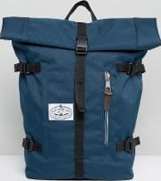Classic Rolltop Backpack In Navy