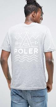 t shirt with back print
