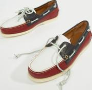 merton leather boat shoes in