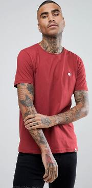 Mitchell Crew Neck  Shirt In Red