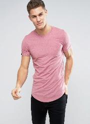 longline t shirt with pocket