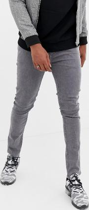 Skinny Fit Jeans Washed