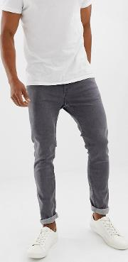 skinny fit jeans  washed grey