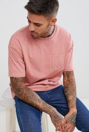 join life t shirt  pink with pocket