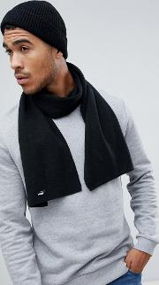 knit scarf in black 05325604