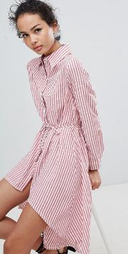 a6aec68624 Shop Qed London Shirtdress for Women - Obsessory