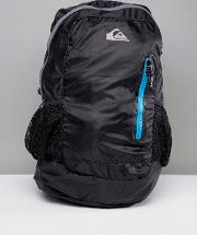 octo packable backpack in black