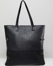 shopper bag with pouch