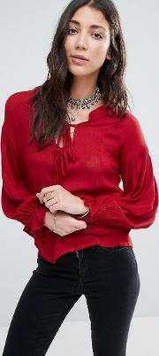 bewitched boho blouse