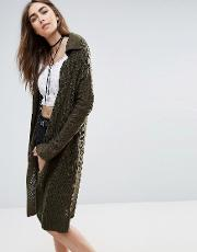in the meadow olive cardigan
