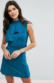 Front Frill Dress